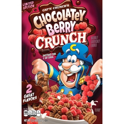 Capn Crunch Chocolatey Berry Breakfast Cereal - 13oz