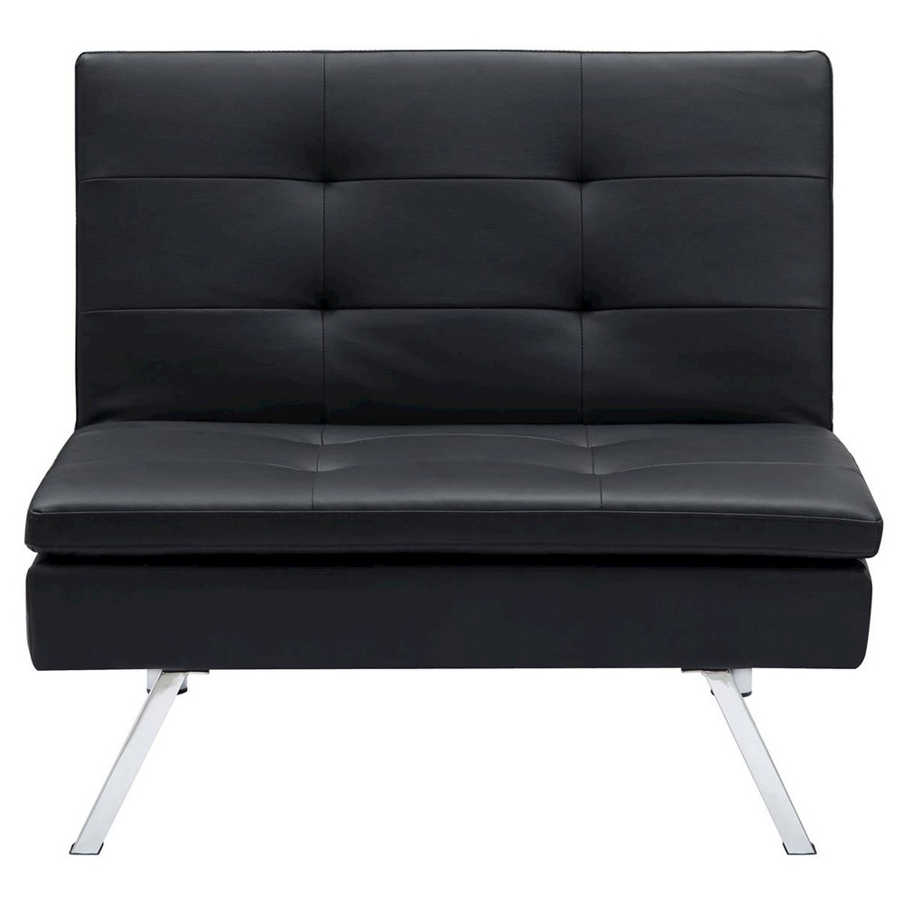 Chelsea Convertible Chair - Black - Dorel Home Products