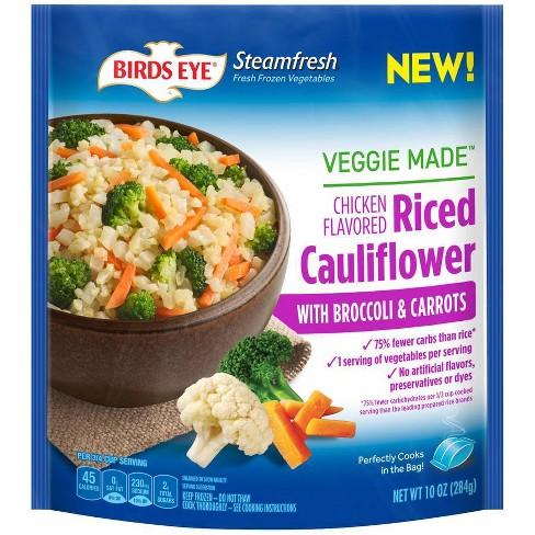 Birds Eye Frozen Veggie Made Chicken Flavored Riced Cauliflower - 10oz - image 1 of 1