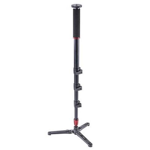 3Pod Orbit 4-Section Aluminum Handheld Monopod Stick for DSLR Photo & Video, Sports Cameras, Fluid Base Tripod Legs with Bag.65 - image 1 of 4