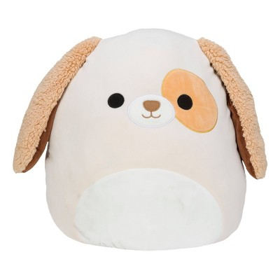 "Squishmallows Official Kellytoy Plush 16"" Harrison the Dog Ultrasoft Stuffed Animal Plush Toy"
