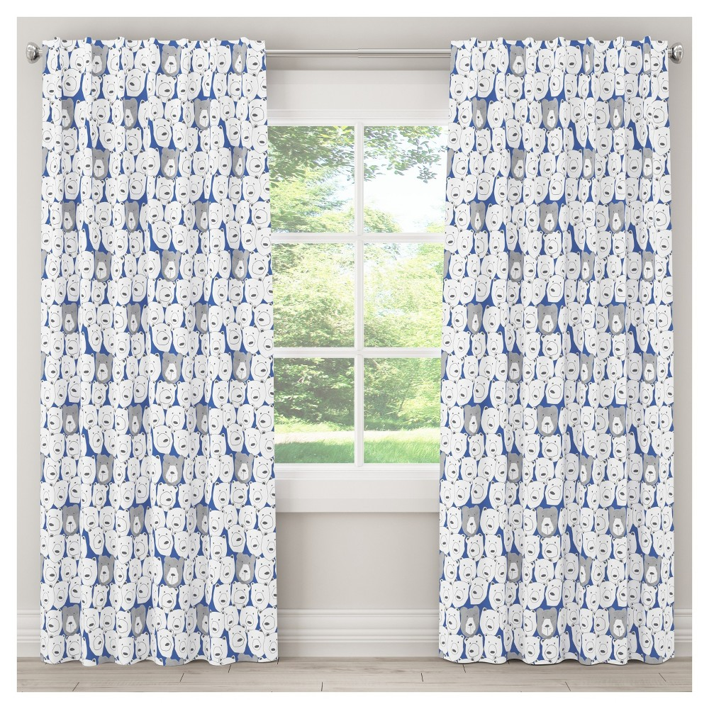Bears Sketch Blackout Curtain Panel (84