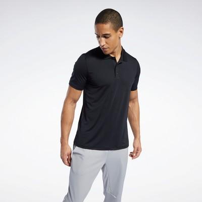 Reebok Workout Ready Polo Shirt Mens Athletic T-Shirts