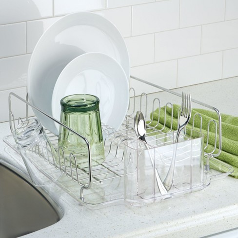 a396ba2865ab InterDesign Forma Lupe Stainless Steel Dish Drainer. Shop all iDESIGN