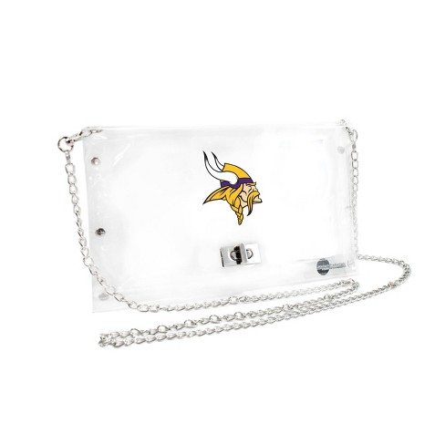 NFL Minnesota Vikings Clear Envelope Purse - image 1 of 1