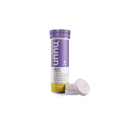 nuun Hydration Rest for Recovery Drink Tabs - Lemon Chamomile - 10ct