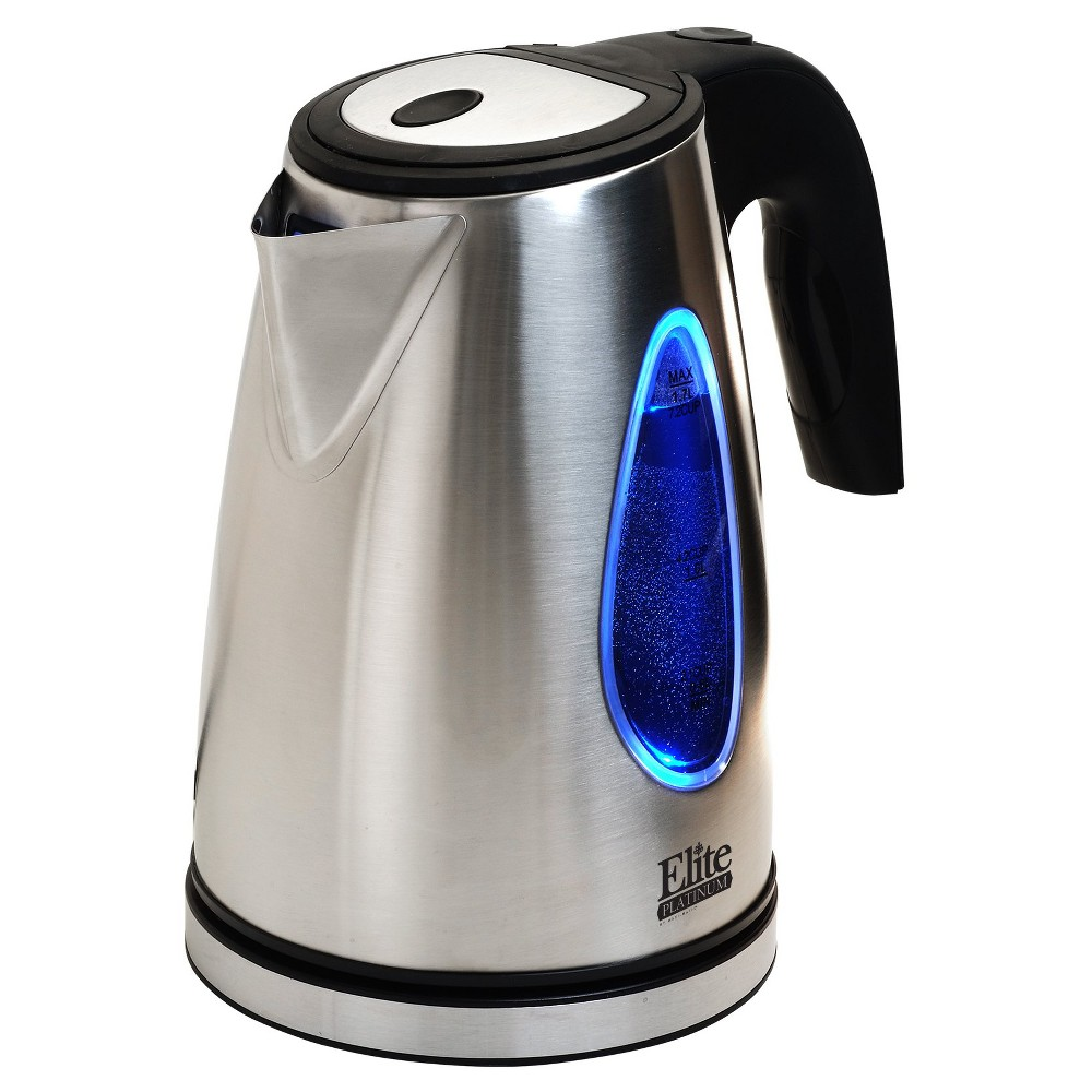 Elite Platinum 1.7 L. Cordless Kettle – Stainless Steel, Silver 47854901