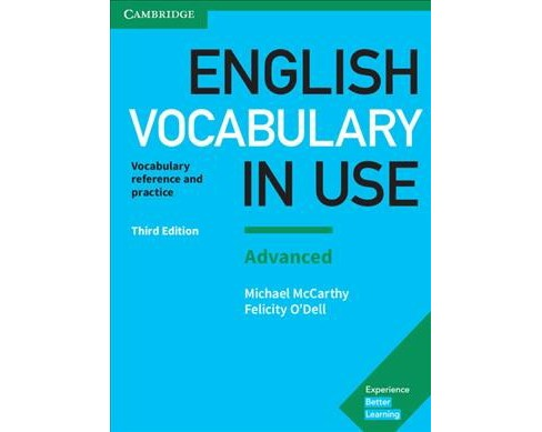 English Vocabulary in Use : Vocabulary Reference and Practice with Answers - Advanced -  (Paperback) - image 1 of 1