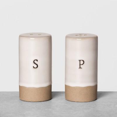 Salt & Pepper Shakers Cream - Hearth & Hand™ with Magnolia