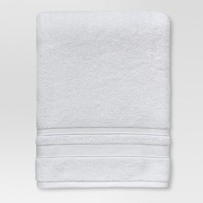 Performance Solid Texture Bath Sheet White - Threshold™