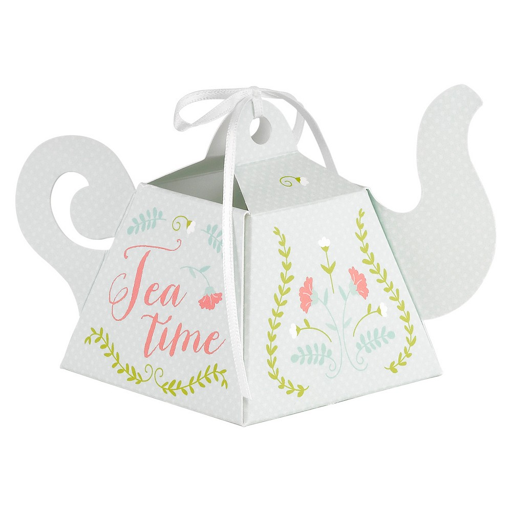 Image of 12ct Tea Time Favor Box