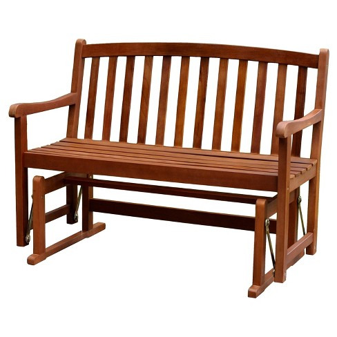 Outstanding 2 Person Glider Bench Merry Products Machost Co Dining Chair Design Ideas Machostcouk