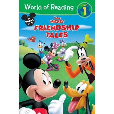 World of Reading Disney Junior Mickey: Friendship Tales - (Paperback)