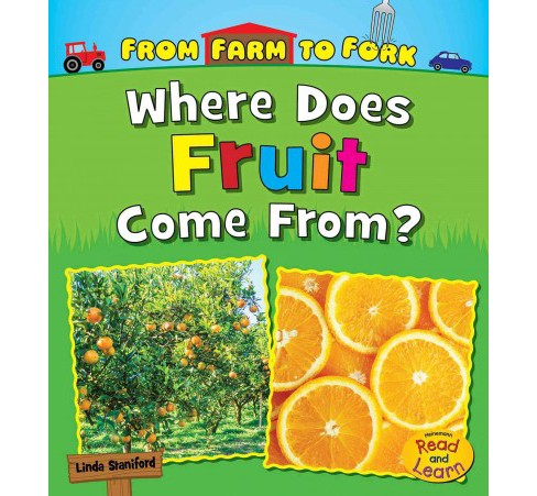 Where Does Fruit Come From? (Paperback) (Linda Staniford) - image 1 of 1