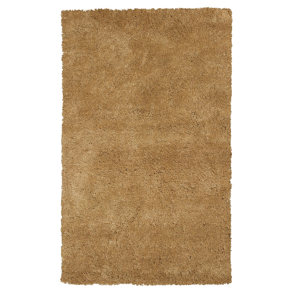 Solid Woven Area Rug 3 3 x5 3 KAS Rugs