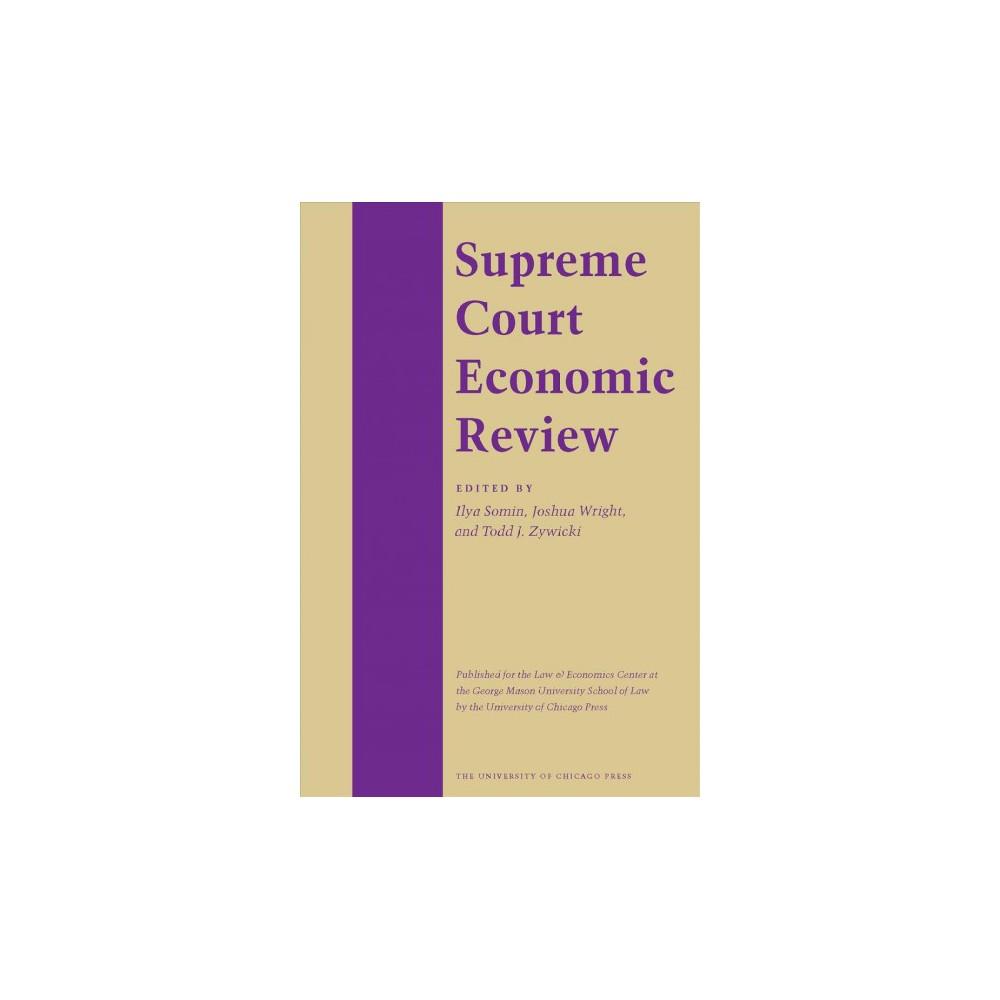 Supreme Court Economic Review - (Supreme Court Economic Review) Book 24 (Hardcover)