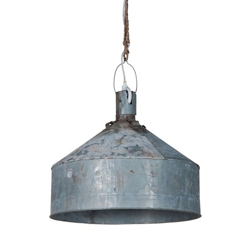 Large Funnel Light Ceiling Light Gray - GuildMaster - image 1 of 1