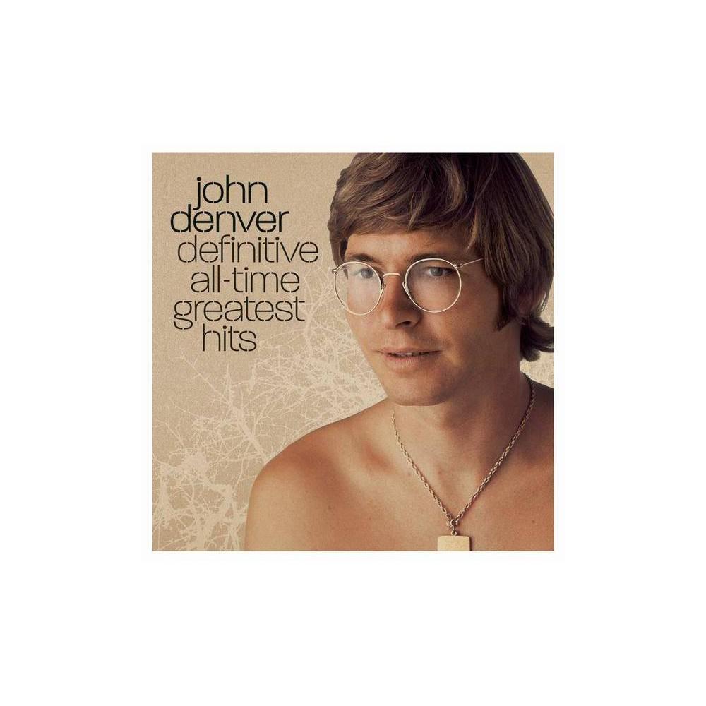 John Denver Definitive All Time Greatest Hits Cd