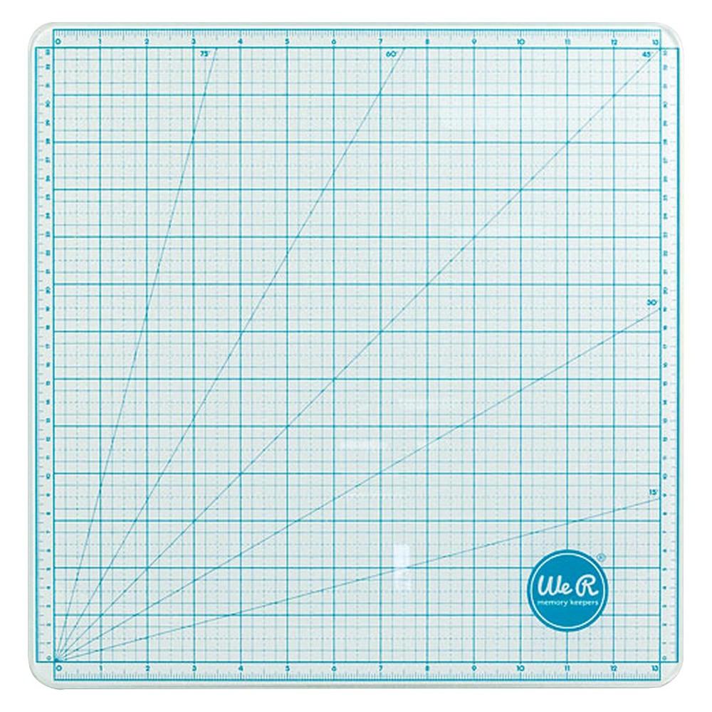 Precision Glass Cutting Mat - 13x13, Blue Sky