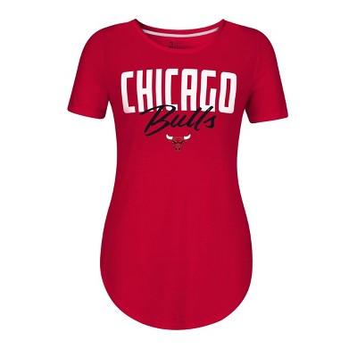NBA Chicago Bulls Women's Bold Script T-Shirt