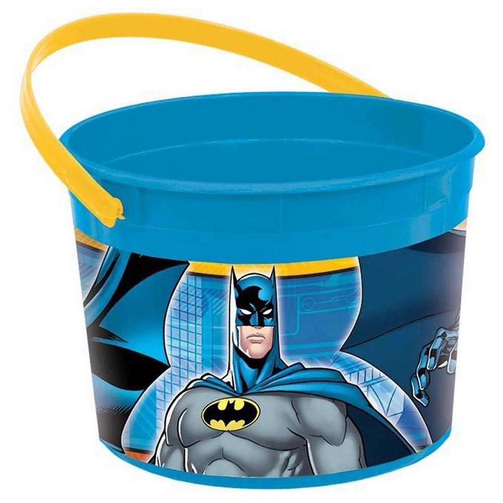 4 ct Batman Favor Bucket, Gift Boxes