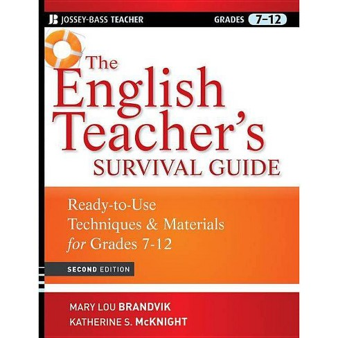 The English Teacher's Survival Guide - (Jossey-Bass Teacher Survival Guides) 2 Edition (Paperback) - image 1 of 1