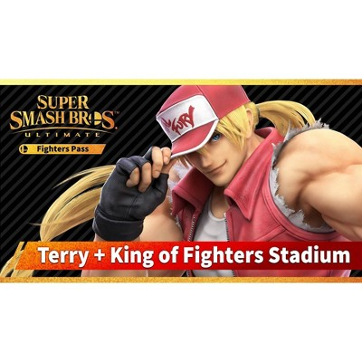 Super Smash Bros. Ultimate Fighters Pass: Terry + King of Fighters Stadium - Nintendo Switch (Digital)