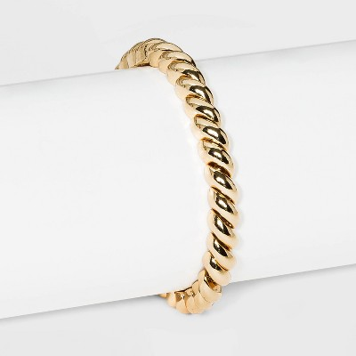 SUGARFIX by BaubleBar Gold Croissant Stretch Bracelet - Gold
