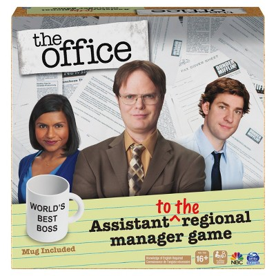 The Office Assistant To The Regional Manager Game