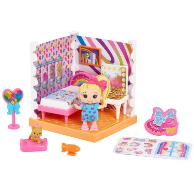 Nickelodeon JoJo Siwa Jojo's World Mini Bedroom Playset