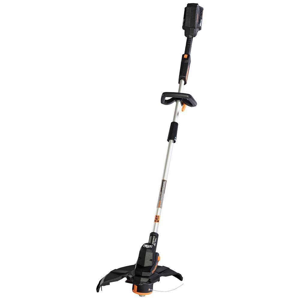 "Image of ""60V Max Brushed Li-Lon Cordless 14"""" Grass Trimmer, Black"""