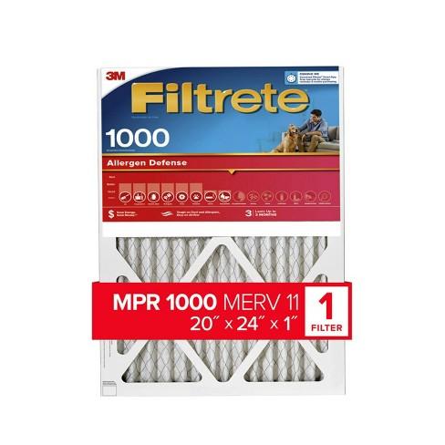 Filtrete Allergen Defense Air Filter 1000 MPR - image 1 of 3