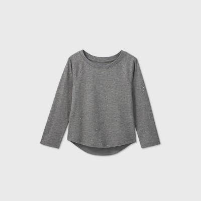 Toddler Girls' Sparkle Long Sleeve T-Shirt - Cat & Jack™