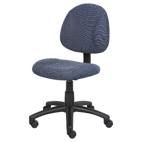 Deluxe Posture Chair Blue - Boss Office Products - image 1 of 5