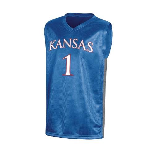 best website 6bf3c df45b NCAA Boy's Basketball Jerseys Kansas Jayhawks - L