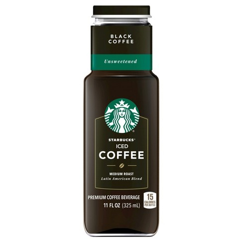 Starbucks Iced Coffee Black Unsweetened - 11 fl oz Can - image 1 of 2
