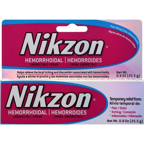 Nikzon Hemorrhoidal Ointment .9oz - image 1 of 4