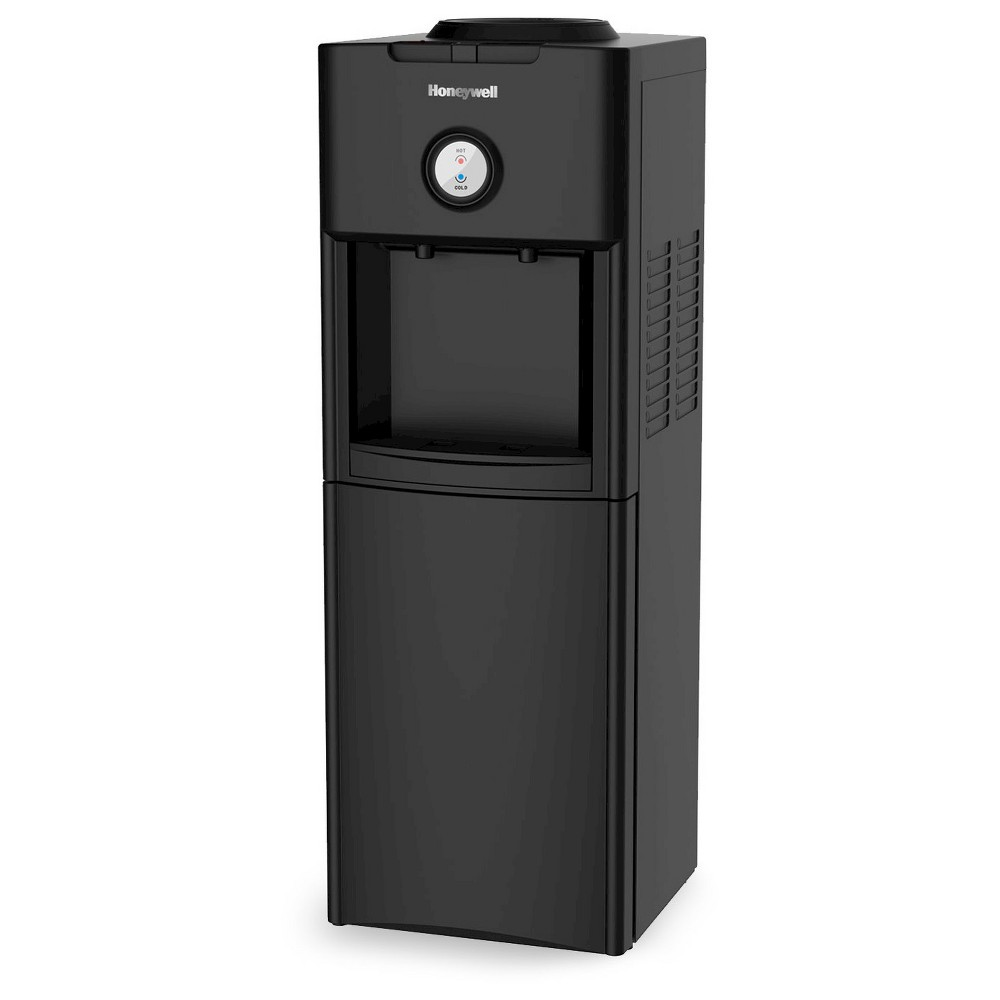Honeywell HWBAP1062B Antibacterial Freestanding Top-Loading Water Dispenser Black