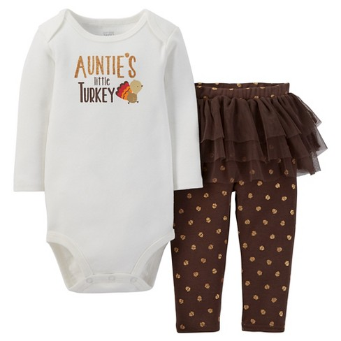 9b8333762 Baby Girls  2pc Aunties Lil Turkey Set - Just One You™ Made By ...