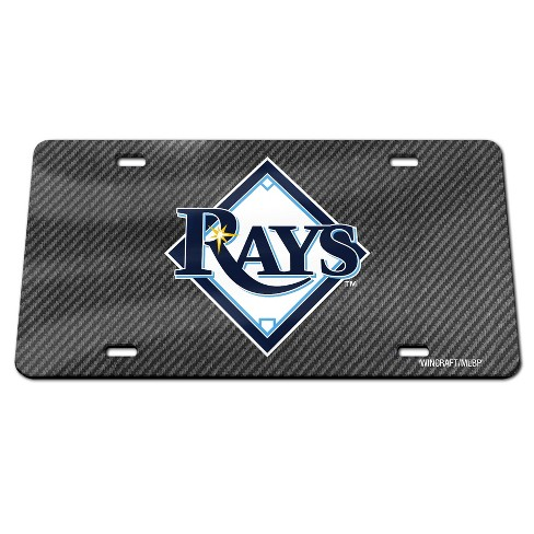 MLB Tampa Bay Rays Carbon Front Plate - image 1 of 1