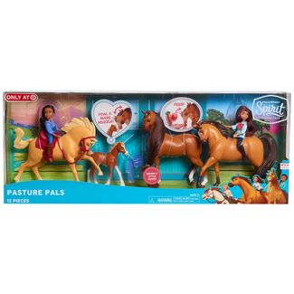 DreamWorks Spirit Riding Free Pasture Pals Set 12pc