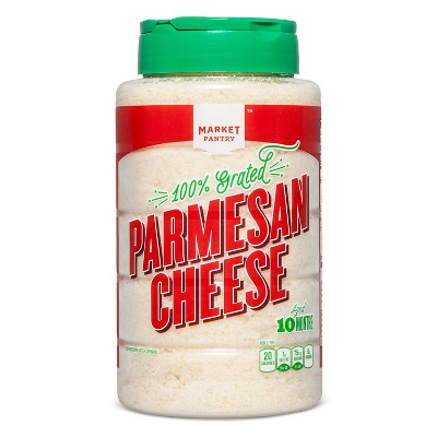 Grated Parmesan Cheese 16oz - Market Pantry™