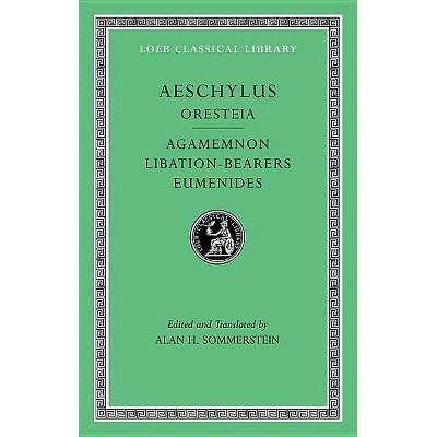Eumenides Libation-Bearers Agamemnon Oresteia