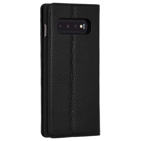 quality design 2507d 48dfa Case-Mate Galaxy S10 Wallet Folio - Black Case