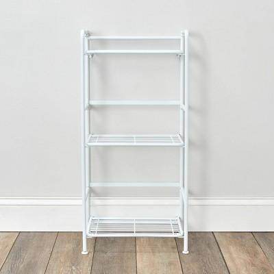 FlipShelf 3 Tier Narrow Rounded Shelf White