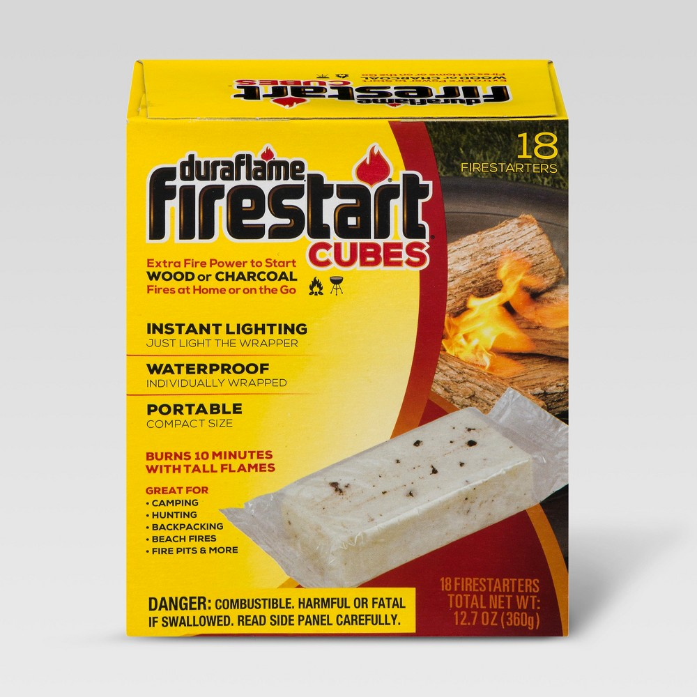 Image of Duraflame Firestart Cubes - 18ct, Black