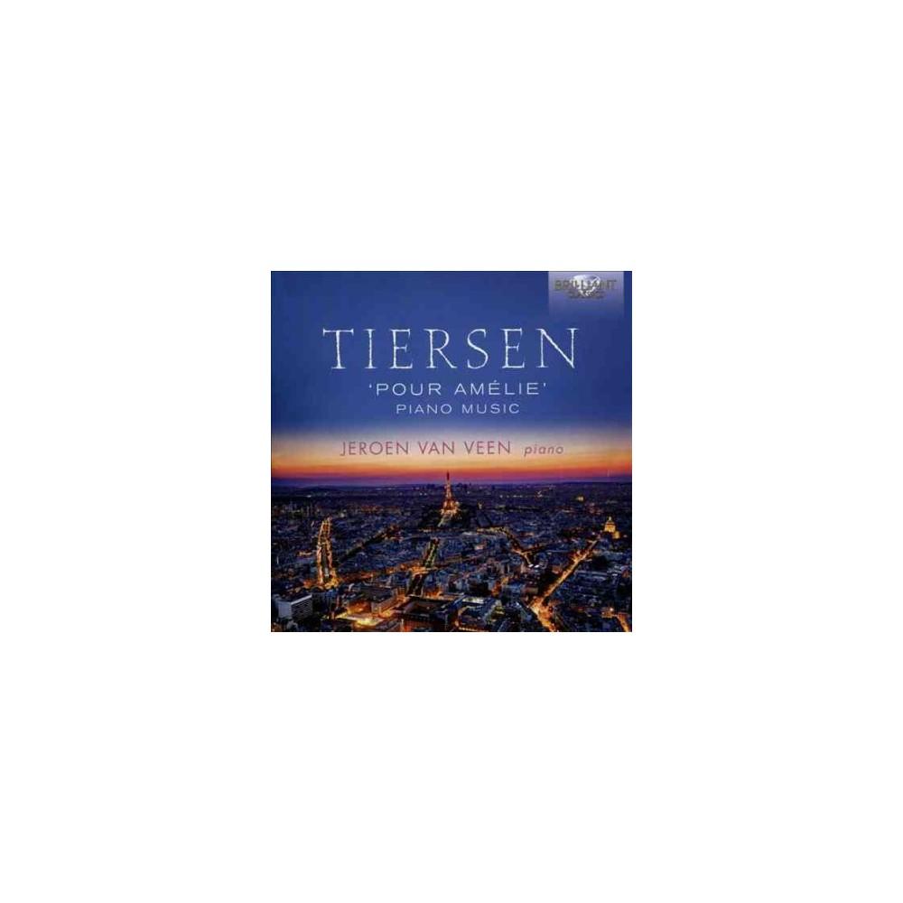 Jeroen Van Veen - Tiersen:Piano Music (CD)