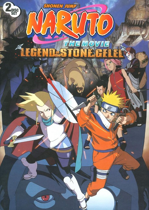 Naruto:Movie:Legend of the stone of g (DVD) - image 1 of 1