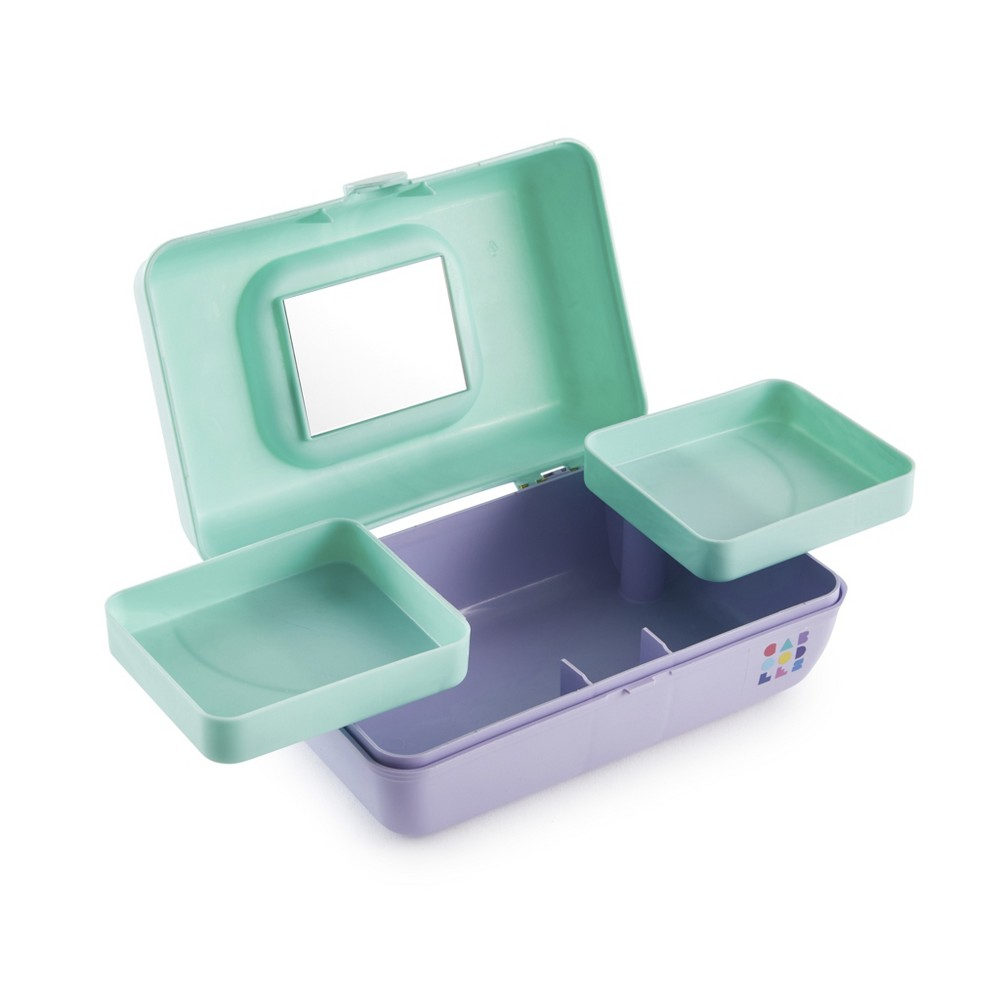 Caboodles Makeup Bags And Organizers Retro Pretty in Petite - Seafoam/Lilac