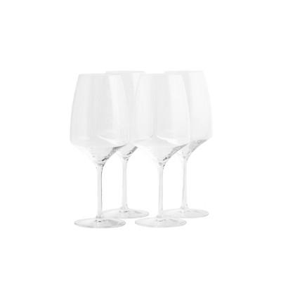 22.8oz 4pk Crystal Experience Bordeaux Glasses - Stoelzle